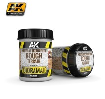 AK-8025 NEUTRAL TEXTURE FOR ROUGH TERRAINS - (250 ml, Base product, Acrylic) - Texture Products