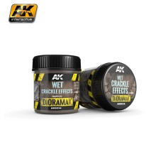 AK-8034 WET CRACKLE EFFECTS - (100 ml, Acrylic) - Texture Products