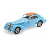 Minichamps - ALFA ROMEO 8C 2900 B LUNGO - 1938 - LIGHT BLUE