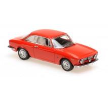 Minichamps - ALFA ROMEO GIULIA SPRINT GTA - 1965 - RED - MAXICHAMPS