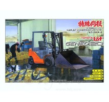 AOSHIMA 04815 - 1:32 Toyota L&F Geneo 20 (Counter Lift) & Russell Set