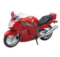 AOSHIMA AOS07994 - 1:12 HONDA CBR1100XX SUPER BLACKBIRD RED - DIECAST MOTORCYCLE