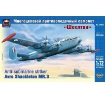 "ARK Models AK72004 - 1:72 Avro ""Shackleton"" MR.3 British anti-submarine striker"
