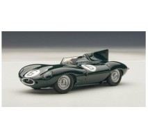 AUTOart 65586 - JAGUAR D-TYPE LM 24HR RACE 1955 WINNER HAWTHORN/BUEB #6 (WITH OPENINGS) 1:43