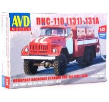 AVD 1293AVD - 1:72 PNS-110 (ZIL-131 Fire Engine)