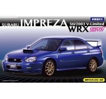 FUJIMI 039404 - 1:24 ID-103 Subaru Impreza WRX Sti/2003 V - LFUJIMIted Window MaskingSeal