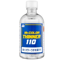 Mr. Hobby - T-102 Mr. Color Thinner 110 (110 ml)