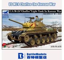 Bronco Models CB35139 - 1:35 US Light Tank 'Chaffee' In Korean War