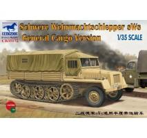 Bronco Models CB35172 - 1:35 German sWs Tractor Cargo Version