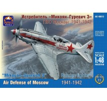 ARK Models AK48013 - 1:48 Mikoyan-Gurevich MiG-3 Russian fighter. Air Defense of Moscow, 1941-1942