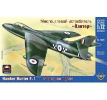 "ARK Models AK72026 - 1:72 Hawker ""Hunter"" F.Mk.1 British Fighter Bomber"