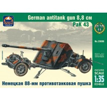 ARK Models AK35006 - 1:35 РаК 43 German 8.8 cm Antitank Gun