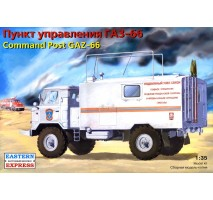 Eastern Express EE35134 - 1:35 GAZ-66 command post (with a new KUNG)