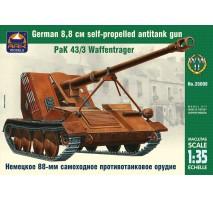 ARK Models AK35008 - 1:35 PaK 43-3 Waffentrager German 8.8 cm Self-Propelled Antitank Gun