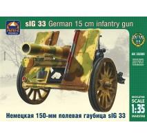 ARK Models AK35009 - 1:35 sIG 33 German 15 cm Heavy Infantry Gun