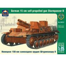 ARK Models AK35012 - 1:35 Sturmpanzer II German 15 cm self-propelled gun