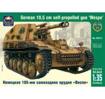 """ARK Models AK35013 - 1:35 """"Wespe"""" German 10.5 cm self-propelled gun"""