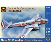 "ARK Models AK72006 - 1:72 Martin M-167 ""Maryland"" American Light Bomber and Reconnaissance plane"