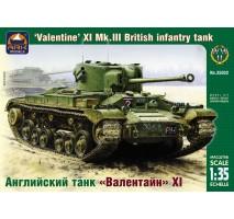 "ARK Models AK35032 - 1:35 ""Valentine"" XI Mk.III British infantry tank"