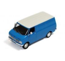 IXO - 1:43 OPEL BEDFORD BLITZ 1975 (light blue) - Cream wheels and cream grill
