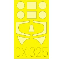 Eduard CX325 - 1:72 Masks for Spitfire F Mk. VIIb (ITALERI)