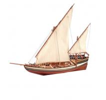 Artesania Latina 22165 - 1:85 Sultan Arab Dhow - Wooden Model Ship Kit