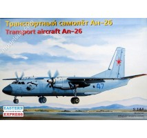 Eastern Express 14483 - 1:144 Antonov An-26 Russian military transport aircraft, the Russian Air Force & Navy