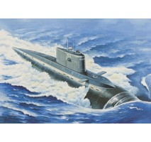"""Eastern Express EE40006 - 1:400 """"Kilo"""" class Russian diesel-electric submarine (project 877 Paltus Halibut)"""