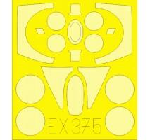 Eduard EX375 - 1:48 Masks for MiG-23M (TRUMPETER)