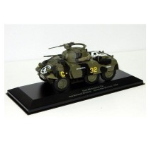 Atlas - 1:43 Ford M8 Armored Car 2nd Armored Division Avranches (WWII Collection by EAGLEMOSS)