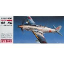 FINE MOLDS FP19 - 1:72 IJA Kawasaki Type3 Ki-61-II Fast Back Fighter - IJA / IJN Aircraft Models