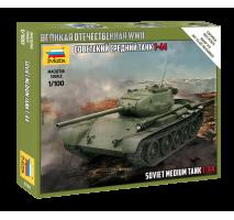 Zvezda 6238 - 1:100 T-44 SOVIET TANK - Snap-fit