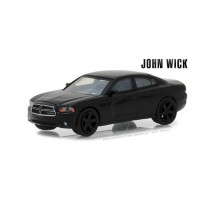 GreenLight 44790-E - John Wick (2014) - 2011 Dodge Charger SXT Solid Pack - Hollywood Series 19