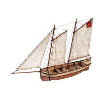 Artesania Latina 19015 - 1:50 HMS Endeavour's Longboat - Wooden Model Ship Kit