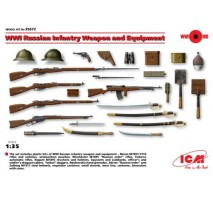 ICM 35672 - 1:35 WWI Russian Infantry Weapon and Equipment