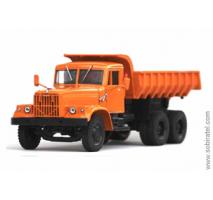 KrAZ-256B Orange Dump Truck
