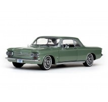 SUN STAR 1483 - 1:18 1963 Chevrolet Corvair Coupe - Laurel Green