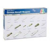Italeri 2691 - 1:48 WWII GERMAN AIRCRAFT WEAPONS