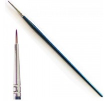 Italeri 51283 - 0-3 Synthetic Round Brush with Brown Tip