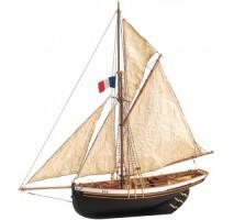 Artesania Latina 22180 - 1:50 Jolie Brise - Wooden Model Ship Kit