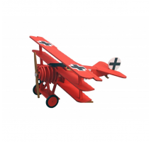 Artesania Latina 30528 - Avion Fokker DR.I – Red Baron - Junior Collection