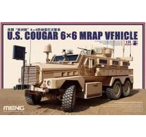 MENG SS-005 - 1:35 U.S. Cougar 6x6 MRAP Vehicle