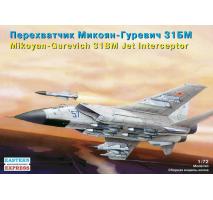 Eastern Express EE72116 - 1:72 Mikoyan-Gurevich MiG-31BM Russian Jet Interceptor