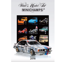 Minichamps - PMA CATALOGUE - 2016 - EDITION 1