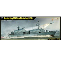 MERIT - 1:72 Russian Navy OSA Class Missile Boat , OSA-1 - Model Kit