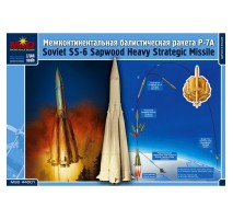 "Micro Scale Design - 1:144 SS-6 ""Sapwood"" Russian Intercontinental Ballistic Missile"