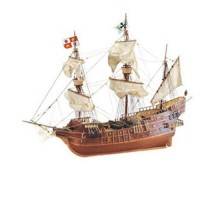 Artesania Latina 18022 - 1:30 San Juan Galeon-XVI Century - Wooden Model Ship Kit