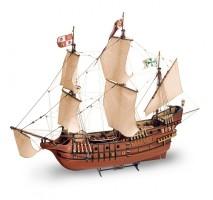 Artesania Latina 22452-N - 1:90 San Francisco II (2017) with metal figures - Wooden Model Ship Kit