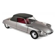 NOREV 181598 - 1:18 Citroen DS 19 Cabriolet 1961 - Pearl Grey (Chapron)
