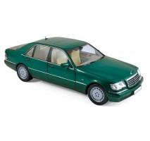 NOREV 183593 - Mercedes-Benz S600 1997 - Green metallic